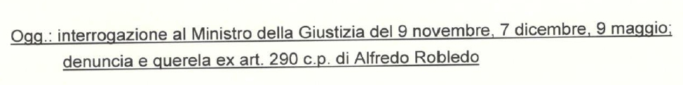 Corrispondenza Grasso